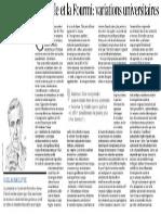 Tribune de Guillaume Leyte