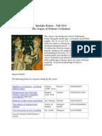 Syllabus - Interlake Fall 2014
