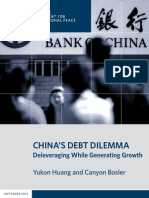 China's Debt Dilemma