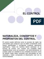 El Control proceso