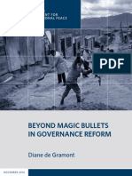 Beyond Magic Bullets in Governance Reform