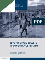 Beyond Magic Bullets in Governance Reform