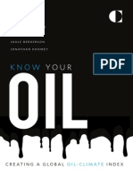 Know Your Oil