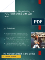 P & G negotiation with Walmart Harvard Case