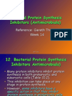 Bacterial Protein Synthesis Inhibitor