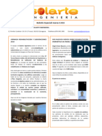 Boletín Informativo Solarte Ingeniería Especial Marzo 2015