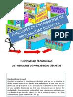 Disribuciones Discretas Bernoulli y Binomial