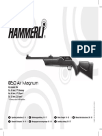 Manual Airgun Hammerli 850 Airmagnum