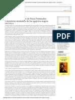 Novela FUENZALIDA de Nona Fernández_ Conciencia Dramática de Los Agujeros Negros - Ojo Literario