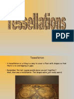 Tessellations Revised Lecture