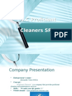 Business Plan - Sc Proficient Cleaners SRL