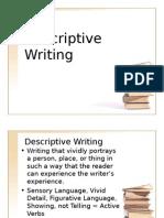 Descriptive Writing MUET