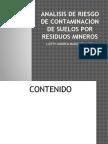 Analisis de Riesgo de Contaminacion de Suelos Por