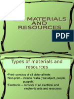 ELT Materials and Resources