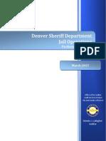 DSD Jail Operations Audit Report