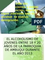Trabajo de Exposicion del alcoholismo
