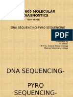 5.2.15-Abt 605 Molecular Diagnostics-term Paper-pyrosequencing
