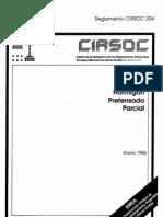 CIRSOC 204 - Hormigón Pretensado Parcial