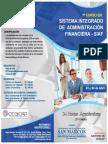 1er Curso SISTEMA INTEGRADO  DE  ADMINISTRACIÓN  FINANCIERA - SIAF