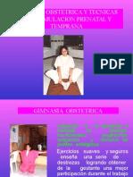 GIMNASIA OBSTETRICA