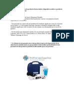 Receta Medica Para Uso de Dispositivo Medico