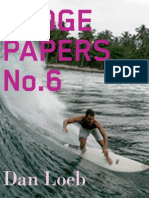 Hedge Papers No.6: Daniel Loeb