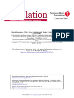 Clinical Experience With a Novel Multielectrode Basket Catheter in Right Atrial Tachycardias (Schmitt Et Al., 1999)