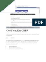 Certificación Empresas de Seguridad Privadas