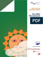 Bridge to India_india Solar Decision Brief_the Rec Mechanism
