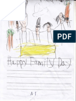 KG2A Family Day Writing March 2015