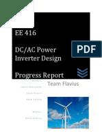 Flavius Progress Report