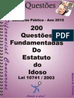 1730_EST. DO IDOSO-Lei 10.741_2003 - Apostila Amostra