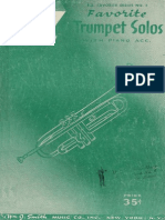 Favorite Trumpet Solos With Piano