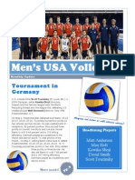mens vs newsletter