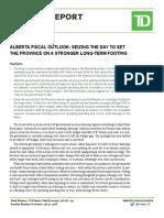 TD Alberta Fiscal
