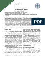 Antibacterial activity of herbal plant(Otostegia limbata)