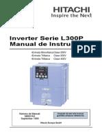 Manual Hitachi L300p Es
