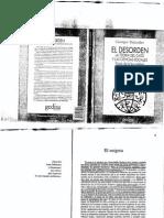 Balandier Georges - El Desorden La Teoria Del Caos Y Las Ciencias Sociales-libre