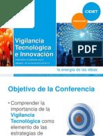 Ruben Dario Cruz - La Vigilancia Tecnologica y La Innovación Para El Desarrollo Empresarial