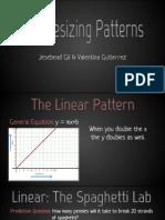 synthesizing patterns - pattern unit presentation
