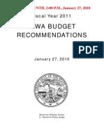 Fy11 Budget Report