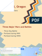 portland oregon - war