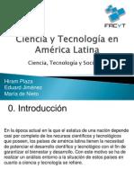 Ciencia y tecnologia en america latina