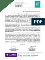 Circular Temas de Interés y Consulta 2015