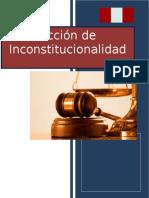 Acción de Inconstitucionalidad