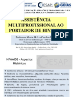 assistência multiprofissional ao paciente hiv/aids