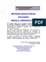 Métodos Geoelétricos Aplicados a Hidrogeologia