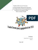 Funcion Docente para la Integración de las TICS.pdf