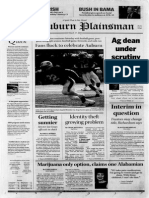 The Auburn Plainsman, 3-17-2005
