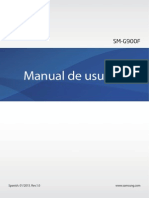 Manual Del Usuario Samsung Galaxy S5 SM-G900F